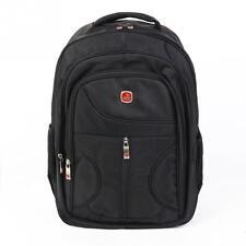 Weiyalu Outdoor Men Women Black Laptop Backpack Sports Rucksack Package Camping