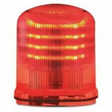Federal Signal Streamline Red Led 120v Lens No Base