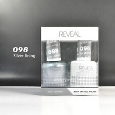 Reveal Gel Polish & Nail Lacquer Matching Duo #098 - Silver Lining
