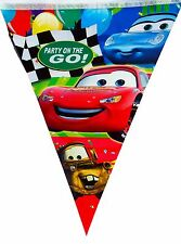 DISNEY CARS PARTY FLAG BANNER/BUNTING PARTY DECORATIONS - PARTY SUPPLIES 1 PACK