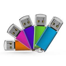 5 Pack/Lot USB Flash Drive 32GB Memory Sticks  Thumb Storage Blank Media U Disk