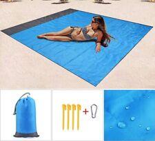 Waterproof Picnic Blanket Portable Pocket Camping Beach Travel Outdoor Sand Mat