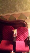 """American Girl Doll Velvet Movie Theater Seats for 18"""" Dolls"""