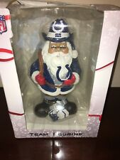 "Indianapolis Colts NFL Santa Forever Collectibles Team Figurine 10.5"" NEW NIB"