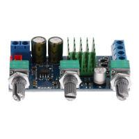 High-Power Amplifier Board Bass Subwoofer HiFi Digital Amplifier Module