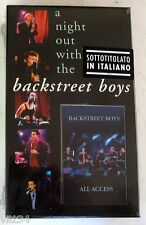 BACKSTREET BOYS - A NIGHT OUT WITH THE BACKSTREET BOYS - VHS Sigillata