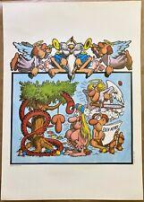 JACOVITTI - Stampa originale a colori - Umoristica / Satirica - Eros - 1977 -