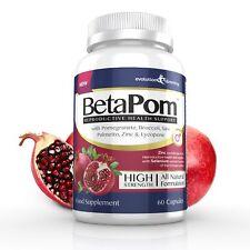 betapom Prostata integratore con Pomegranate,zinco & PIANTA steroli (60 capsule)