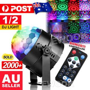 USB RGB LED Disco Ball DJ Party Light Effect Strobe Remote Auto Sound Activated