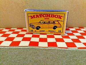 Matchbox Lesney No 38  Vauxhall victor Estate Car EMPTY repro box  NO CAR