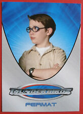 THUNDERBIRDS (The 2004 Movie) - Card#11 - Fermat - Cards Inc 2004