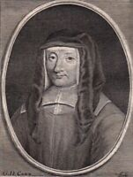 Portrait XVIIIe Louise De Marillac Filles de La Charité Vincent De Paul 1786
