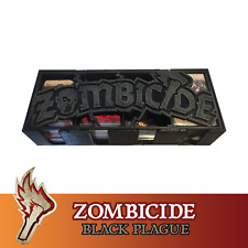 Zombicide Black Plague Card Box Magnetic Lid Board Game