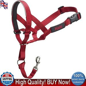Halti HeadCollar Size 3 Dog Effective Lead Padded Noseband Stop Pulling Red New