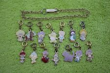 Vintage HTF Strawberry Shortcake jewelry - charm bracelet & all 14 charms