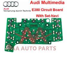 Audi A6 Q7 Multimedia Keys E380 Circuit Board (with Navigation)
