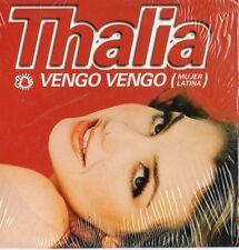 CD Single THALIAVengo Vengo (Mujer Latina) 2-track CARD SLEEVEFRANCE + RARE +