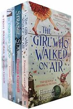 Emma Carroll 5 Books Set Collection - The Girl Who Walked On Air, Strange Star..