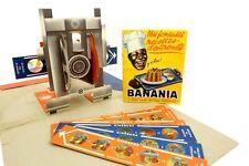 Cinebana Banania Papp Projector Laterna Magica with 7 Bildstreifen to 1950 jw153