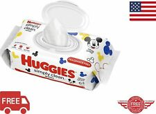 HUGGIES SIMPLY CLEAN BABY WIPES 1 PACK 64 COUNT FREE SHIPPING