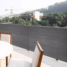 More details for 5m privacy garden screen sunshade fence panel cover balcony uv protection shade
