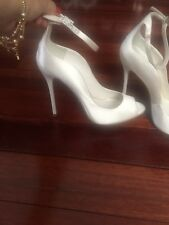 Brian Atwood White Shoes, Size 6