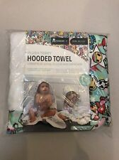 Tokidoki x Bebe Au Lait: Unikiki 2.0 Plush Terry Hooded Towel 0-24 Month (JB15)