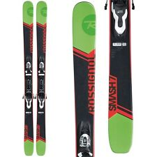 2017 Rossignol Smash 7 Xpress 140cm All Mountain Powder Skis w/ Bindings RRF02QE