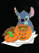 Disney DisneyStore.com Autumn Stitch Carving a Halloween Jack-o'-Lantern Pin