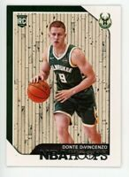 2018-19 Panini NBA Hoops DONTE DIVINCENZO Rookie Card RC #246 Milwaukee Bucks