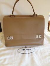 NWT PRADA Lux Leather FLAP BAG BN2796 RRP €2500