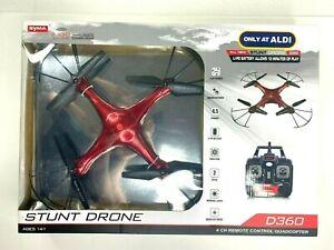 Stunt Drone (D360) 4 Channel Remote Control QuadCopter