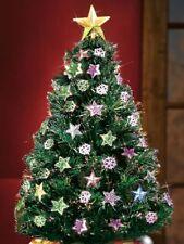 Rotating Fiber Optic Christmas Tree, Rotating Tabletop Christmas Tree