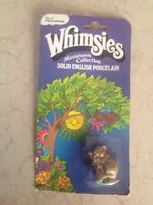 WADE WHIMSIES FIELD MOUSE On The Original Card
