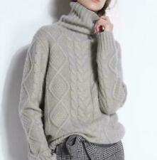 2020 Women Ladies Luxury Cashmere Knitwear Jumper Pullover Turtleneck Sweaters