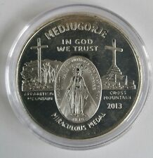 1 oz .999 silver Mary queen of peace medjugorje Catholic Confirmation bible