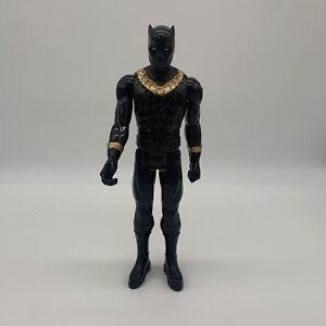 "Marvel Titan Hero Avengers PowerFX Series Black Panther 12"" Action Figure"