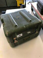 US Army HARDIGG Military PELI-CASE Transportbox  green grün ca.47 x 48 x 31 cm