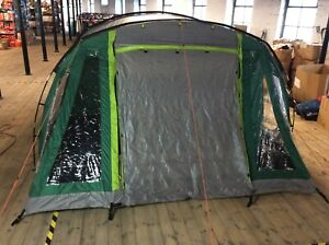 COLEMAN MOSEDALE 5 PERSON MAN FAMILY GREEN TENT 2 BEDROOMS RRP £380