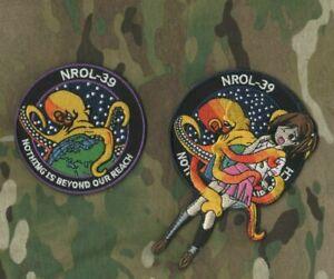 USA-247 NROL-39 Topaze Radar Imagerie Satellite Animé Fille Vu sur Le Daily Show