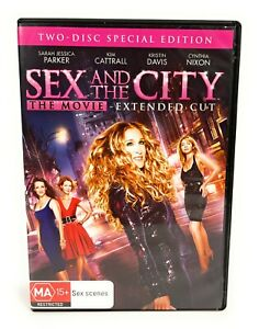 Sex and the City Movie (DVD, 2008) 2 Disc Edition Sarah Jessica Parker Region 4
