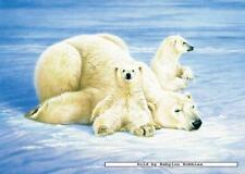 1000 pcs jigsaw puzzle: Joh Naito - Polar Bears (Animals) (Schmidt 58500)