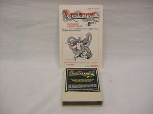 VENTURE for the Atari 2600 Complete with Manual & Ships Fast Free!