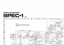 Schematic Diagrams-schéma pour pioneer spec - 1