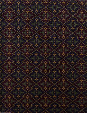 Imported German Tapestry Upholstery Fabric Alpine Flowers Purple 21 yds GQ1-c21