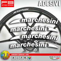 Adesivi Stickers Kit MARCHESINI RACING WHEELS CERCHI RUOTE MOTO DUCATI APRILIA
