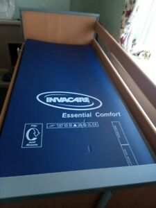 Invacare Medley Ergo Adjustable Single Bed and Mattress, Barely used