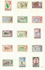 CAYMAN ISLANDS 1962-64 TO £1 SG165/79 FINE USED