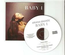 "ARIANA GRANDE  ""BABY I"" / COSMIC DAWN - NEW 5 REMIX OFFICIAL CD PROMO"