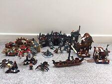 Lego Hobbit (dol Guldur, Laketown, Barrel Escape and Murk wood Spiders)